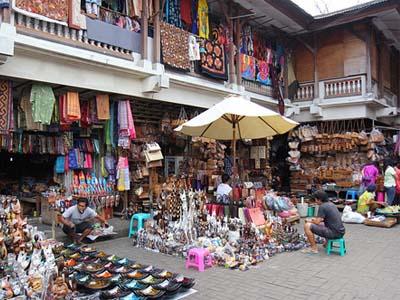PAKET TOUR BALI + HOTEL NON BINTANG pasar seni ubud