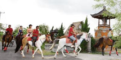 tiket wisata naik kuda via joglo bali tours