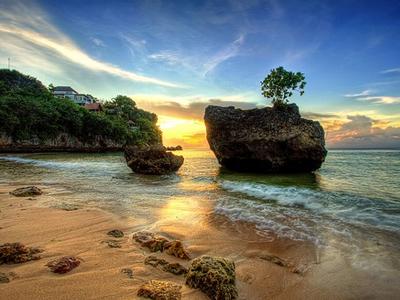 PAKET TOUR BALI + HOTEL NON BINTANG padang padang beach