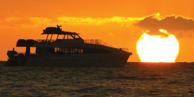 sunset dinner cruise via joglo bali tours